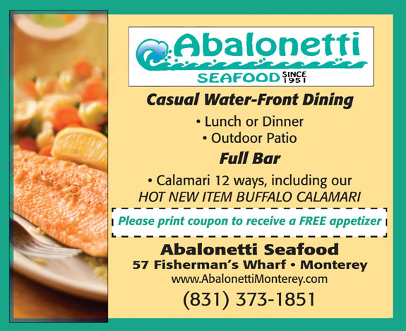 Abalonetti 39 S Seafood Restaurant