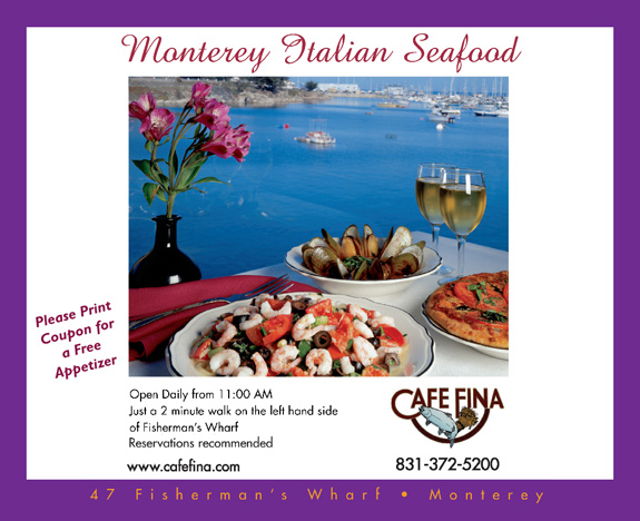 Cafe Fina Monterey Dining