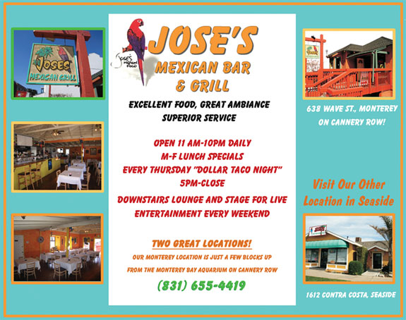 Mexican Restaurants In Monterey Bay