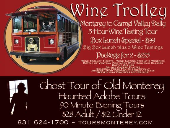 Ghost Tours In Carmel Ca