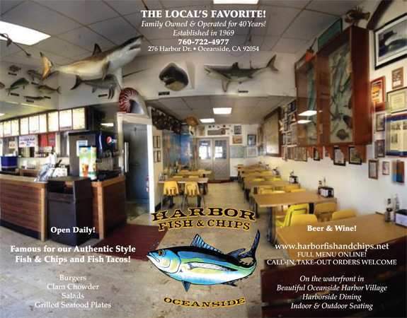 Harbor fish and chips for Best fish and chips in san diego