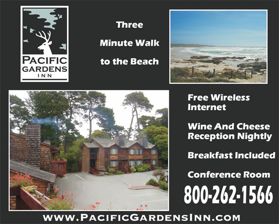 pacific grove hotels. Black Bedroom Furniture Sets. Home Design Ideas