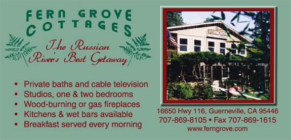 fern grove cottages napa sonoma hotels lodging. Black Bedroom Furniture Sets. Home Design Ideas