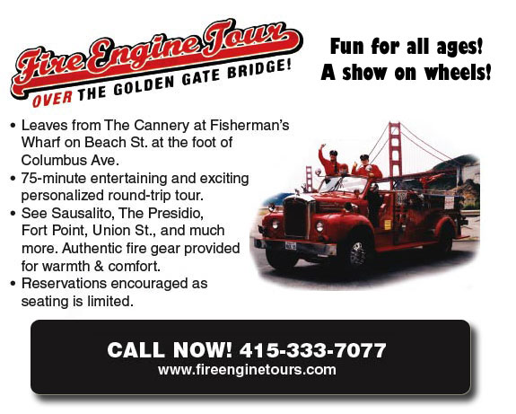Red Fire Engine Tours San Francisco