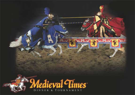 Chivalrous knights, rugged castles, beautiful princesses, and timeless stories are waiting for you at Medieval Times Dinner and Tournament in Buena Park! Spend an evening as a noble guest at the castle as you watch an action-packed medieval tournament and /5.
