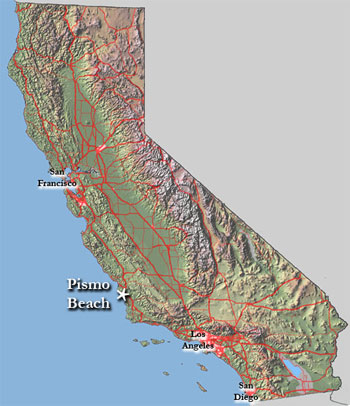 Pismo Beach Hotels Map The Best Beaches In The World
